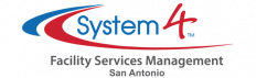 system4 san antonio commercial cleaning logo